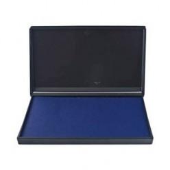 Штемпельная подушка синяя Trodat 9*16см пластиковый корпус