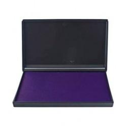 Штемпельная подушка фиолетовая Trodat 9*16см пластиковый корпус