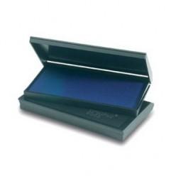 Штемпельная подушка синяя Trodat 5*9см пластиковый корпус