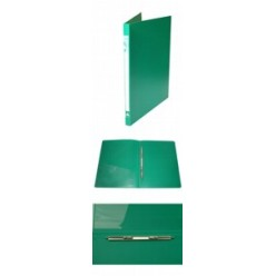 Папка пластиковая скоросшиватель Бюрократ А4 0,5мм, ассорти (PZ05P)