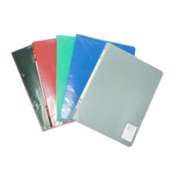 Папка пластиковая скоросшиватель Бюрократ А4 0,5мм, зеленая (PZ05Pgreen)