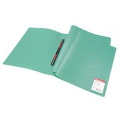Папка пластиковая скоросшиватель EK Standart  А4 зеленая