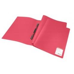 Папка пластиковая скоросшиватель EK Standart А4 красная