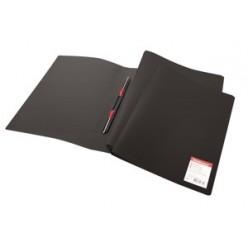 Папка пластиковая скоросшиватель EK Standart А4 черная