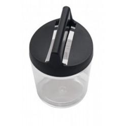 Диспенсер для скрепок магнитный, черный