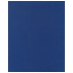 Тетрадь А5, 048л, клетка, скрепка, обл бумвинил, офсет, Синяя