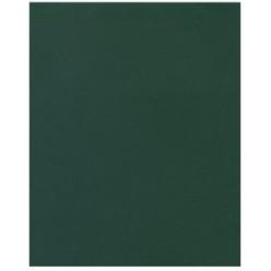 Тетрадь А5, 048л, клетка, скрепка, обл бумвинил, офсет, Зеленая