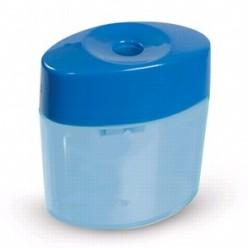 Точилка EK, одинарная, с накопителем, пластиковая, Smart&Sharp