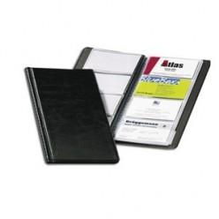 Визитница на 096 карт, PVC, черная (824549)2380-01