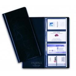Визитница на 096 карт, VISIFIX  пластик., черная, 25,3х11,5мм