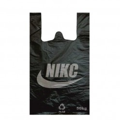 Пакет-майка 30х50 «NIKC» чёрн 50шт/1000
