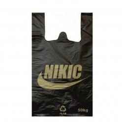 Пакет-майка 30х50 «NIKIC» чёрн 50шт/1000
