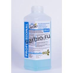 SARBIO EFFEKT многофункциональное слабокислое профессиональное моющее средство, бутылка 1 кг
